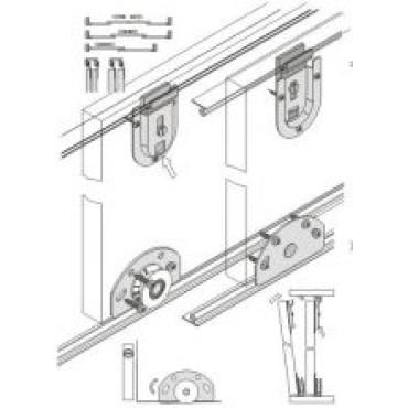 Раздвижная система FAST алюминиевая