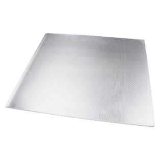 Піддон під мийку 600 мм алюмінієвий гофрований