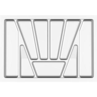 Лоток для столових приладів Standart , Verso - 700 мм білий