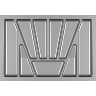 Лоток для столових приладів Standart , Verso - 700 мм сірий