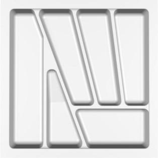 Лоток для столових приладів Standart , Verso - 500 мм білий