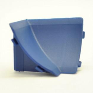 Угол внутренний на плинтус  синий