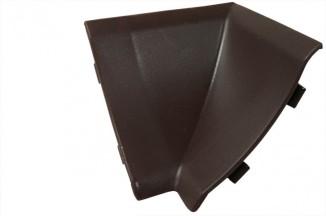 Угол внутр. на плинтус  коричневый тёмный №64