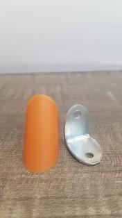 Кутик одинарний метал/пластик вишня