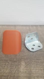 Кутик подвійний метал/пластик вишня