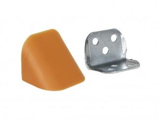Кутик подвійний метал/пластик вільха