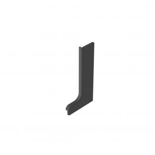 Заглушка профиля L (левая) пластик (nr 05001016)