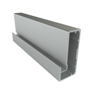 Профиль алюмінієвий рамковий квадратний D-4 срібло 6,0