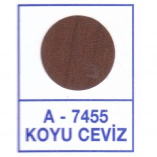 Заглушки к минификсу самоклеящиеся 7455 орех тёмный