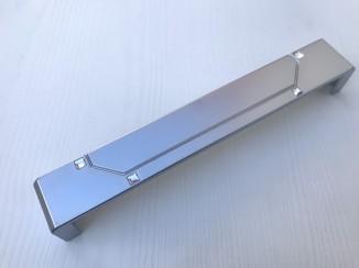 Ручка мебельная С-5195/160 G6 (хром матовый) Nomet