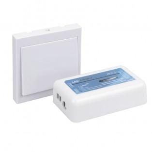 Переключатель клавишный белый (STER-KLA-12A-R)