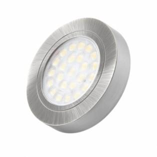Светильник LED врезной (2W) алюминий (OVAL-2W-AL-BZ-01)
