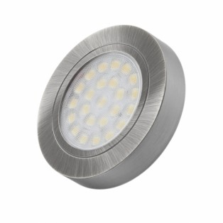Светильник LED врезной (2W) сталь (OVAL-2W-AL-BZ-01)
