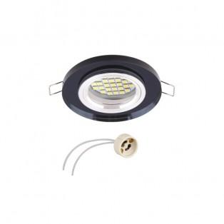 Светильник LED врезной черный (RINGO-CZ-01)