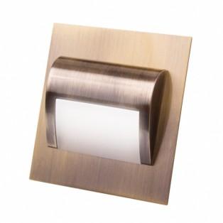 Светильник LED для цоколя латунь (STEP-AN-40K-01)