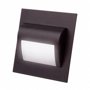 Светильник LED для цоколя черный (STEP-CZ-40K-01)