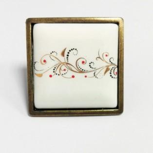 Ручка DG 5352-08/41 керамика
