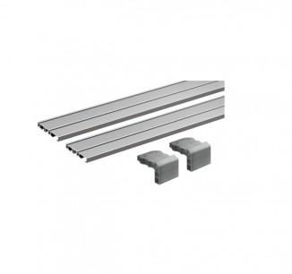 Комплект профілів 2500мм 2-х доріжковий SlideLine M (922724500)