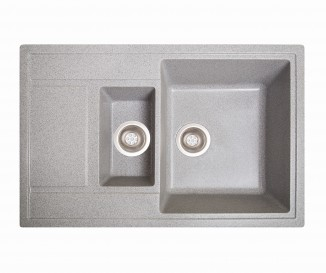 Кухонная мойка Solid Practic серый