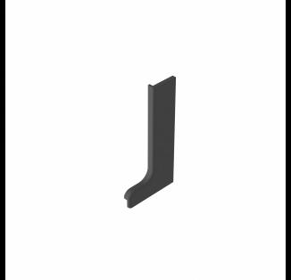 Заглушка профиля L (правая) пластик (nr 05001116)