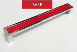 Ручка DG 5254/192 MADRID хром+красный