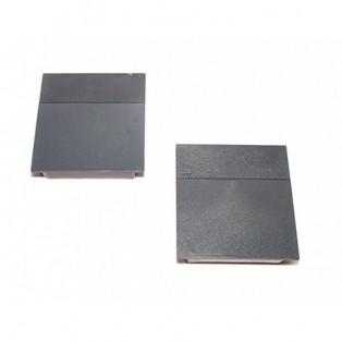 Накладки лифта подъёмного DTC SQ серые + полоса темно-серая SQJS01B комплект левая + правая