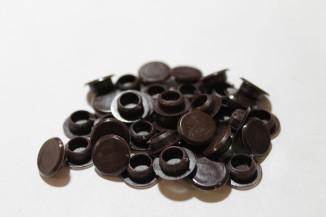 Заглушка IF D-8 мм темно-коричневая (100шт)