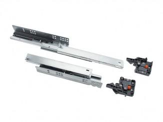 Направляюча прихованого монтажу DTC 18мм L-350 повного висуву SS80350H1