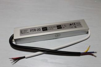 Блок живлення герметичний FTR 20Вт