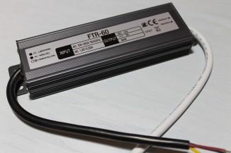 Блок живлення герметичний FTR 60Вт