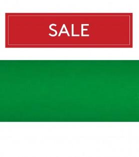 Крайка паперова 19мм з клеєм, зелений (70622)