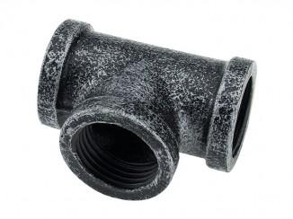 Кріплення Т- образне труб D-19мм ретро для полиць Pipe