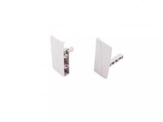 Тандембокс: сіре кріплення передньої панелі внутрішньої шухляди тандембоксу сіре DТС M01012 (H12)