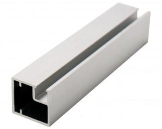 Профиль алюмінієвий рамковий квадратний D-1 білий глянець 6,0