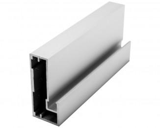 Профиль алюмінієвий рамковий квадратний D-4 білий глянець 6,0