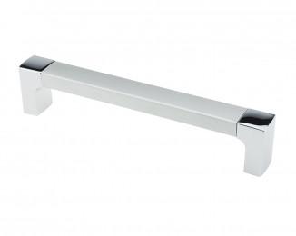 Ручка меблева D-740 AL/128 G2 хром