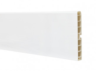 Цоколь Volpato L=4000mm H=100 білий глянець